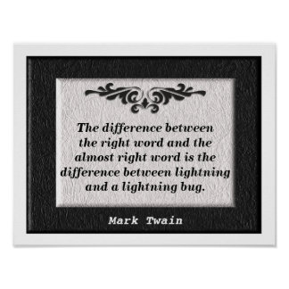 The right word! poster