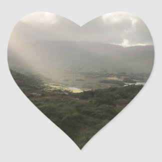 The Ring of Kerry Heart Sticker