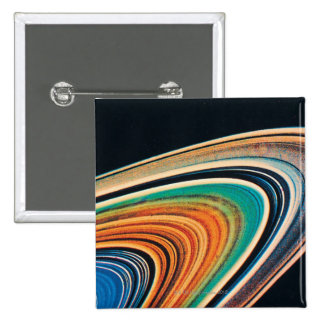 The Rings of Saturn 2 2 Inch Square Button