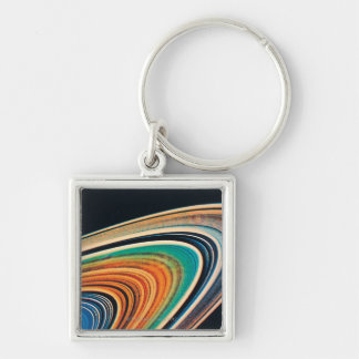 The Rings of Saturn 2 Keychain