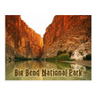 The Rio Grande, Big Bend NP, Texas Postcard