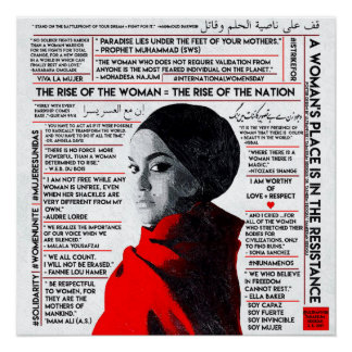 The Rise of the Woman / El Ascenso de la Mujer Perfect Poster
