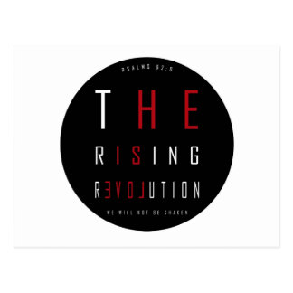 The rising revolution psalm postcard
