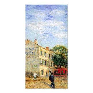 The Rispal Restaurant at Asnieres by van Gogh Photo Cards