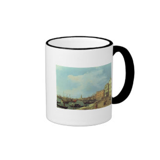 The Riva Degli Schiavoni, 1724-30 Ringer Coffee Mug