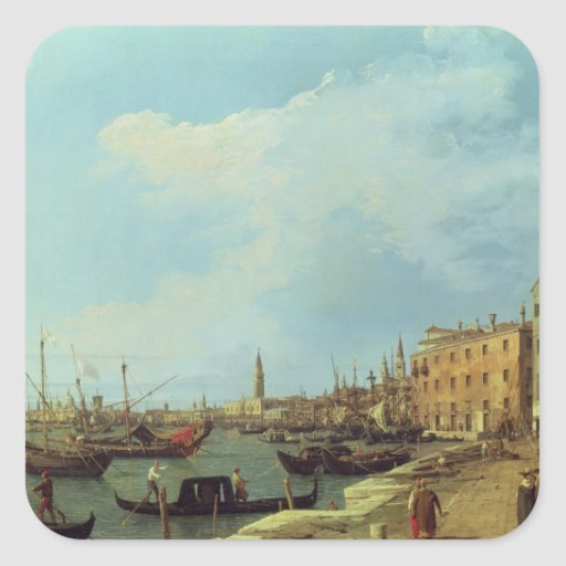 The Riva Degli Schiavoni, 1724-30 Sticker