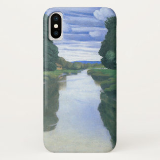 The River at Berville by Felix Vallotton iPhone X Case