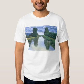 The River at Berville by Felix Vallotton Tshirts