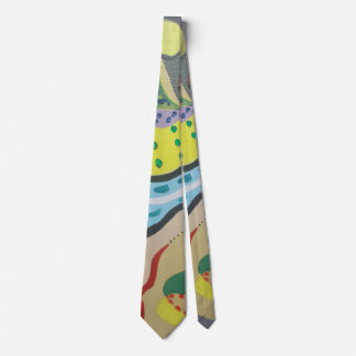 The river blue tie