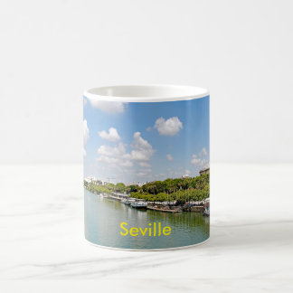 The river Guadalquivir and the Golden Tower Coffee Mug