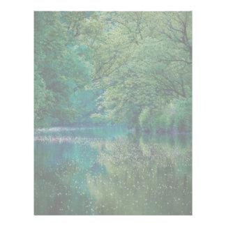 The River • Letterhead