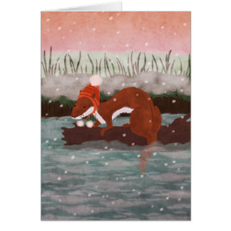 The River otter Card