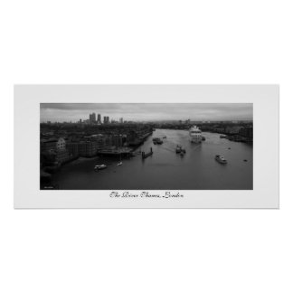 The River Thames Poster