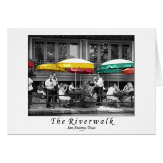 The Riverwalk in San Antonio, Texas Card