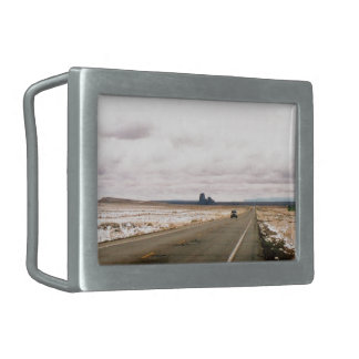 The Road Ahead Belt Buckle