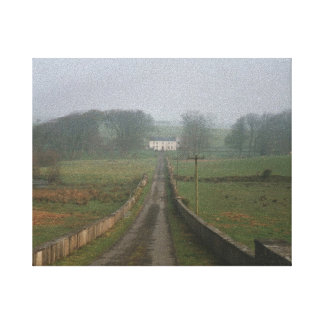 The Road Home Wrapped Canvas Canvas Print