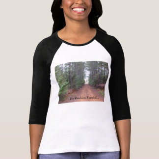 """The Road Less Traveled..."" by Nina Beall Designs T-Shirt"