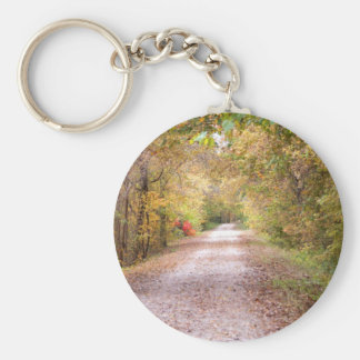 The Road Less Traveled Keychain