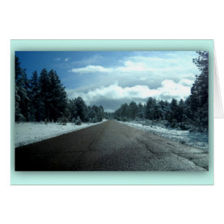 The Road note card
