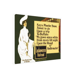 The Road Of Anthracite 1903 Canvas Print