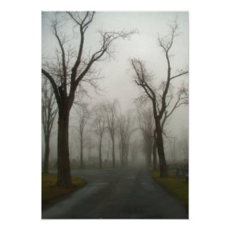 The Road Through The Graveyard Poster