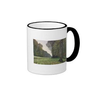 The Road to Bas-Breau, Fontainebleau , c.1865 Coffee Mug