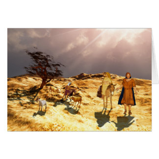 The road to Bethlehem Card