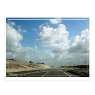 The Road To Cape Hatteras Postcard