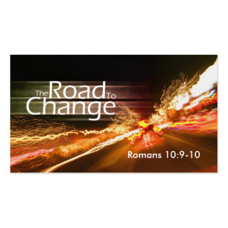 The Road to Change-medium Business Cards