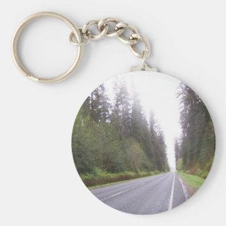 The Road to Forks, WA Keychain