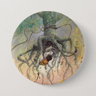The Roaming Oak 3 Inch Round Button