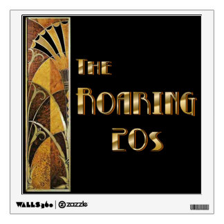 The Roaring 20s Wall Decal