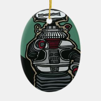 The Robot (B-9) Ceramic Ornament