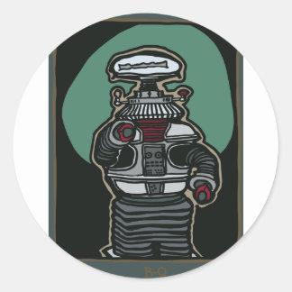 The Robot (B-9) Round Sticker