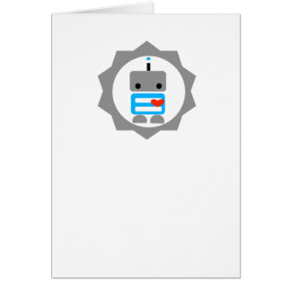 The Robot! Greeting Card