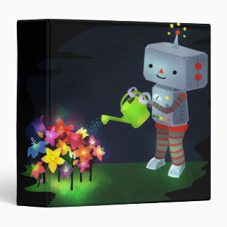 The Robot's Garden 3 Ring Binder