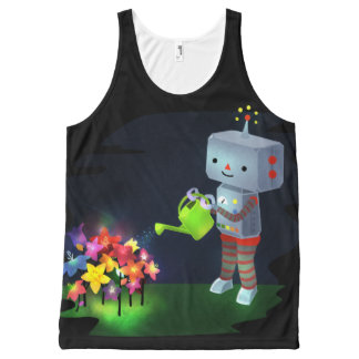 The Robot's Garden All-Over-Print Tank Top