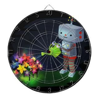 The Robot's Garden Dartboard