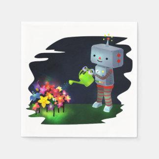 The Robot's Garden Disposable Napkins