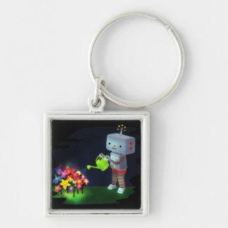 The Robot's Garden Keychain