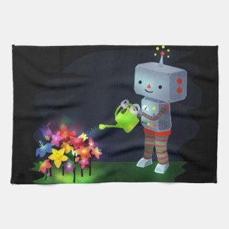 The Robot's Garden Kitchen Towel