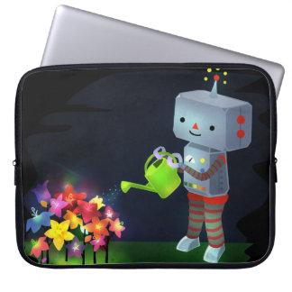 The Robot's Garden Laptop Sleeve