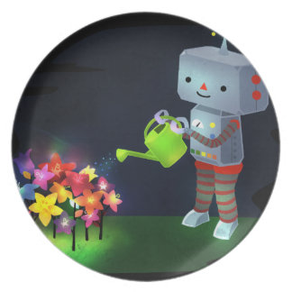 The Robot's Garden Plate