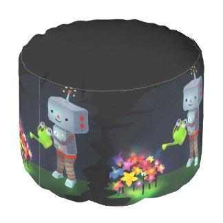 The Robot's Garden Pouf