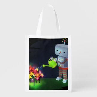 The Robot's Garden Reusable Grocery Bag