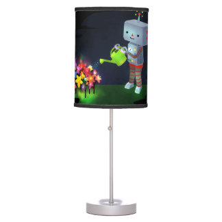 The Robot's Garden Table Lamp