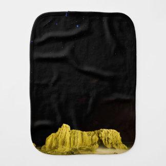 The Rock Burp Cloth