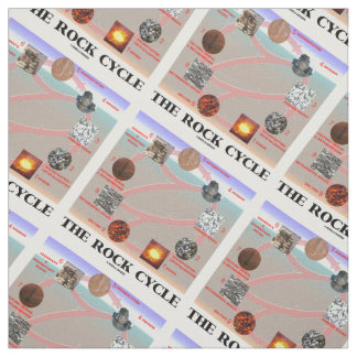 The Rock Cycle Geology Earth Science Fabric