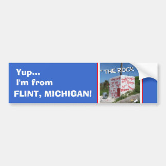 The Rock - Flint, MI Bumper Sticker