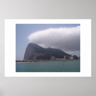 The Rock, Gibraltar Poster